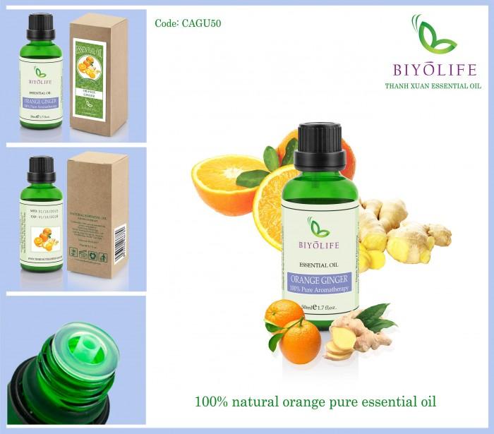 Tinh dầu cam gừng 1000ml