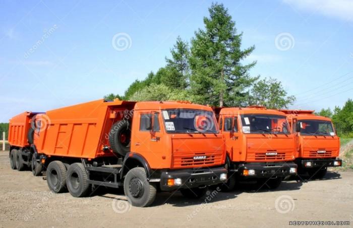 Bán xe ben Kamaz 65115 2016 giá 1 tỷ 320 triệu + ưu đãi