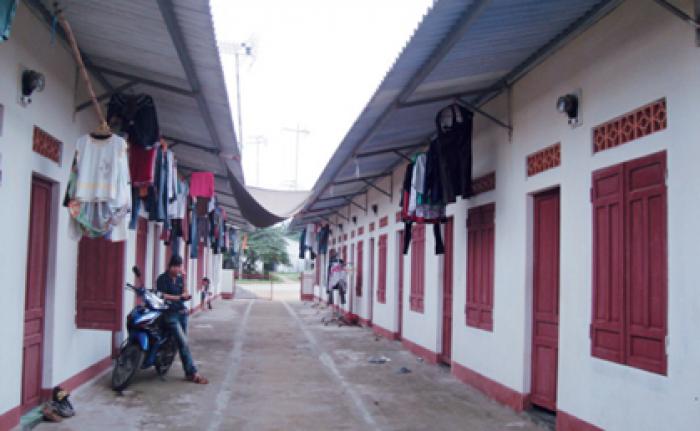Bán dãy nhà trọ gần khu công nghiệp Nhị Xuân, thu nhập 12 triệu/ tháng.