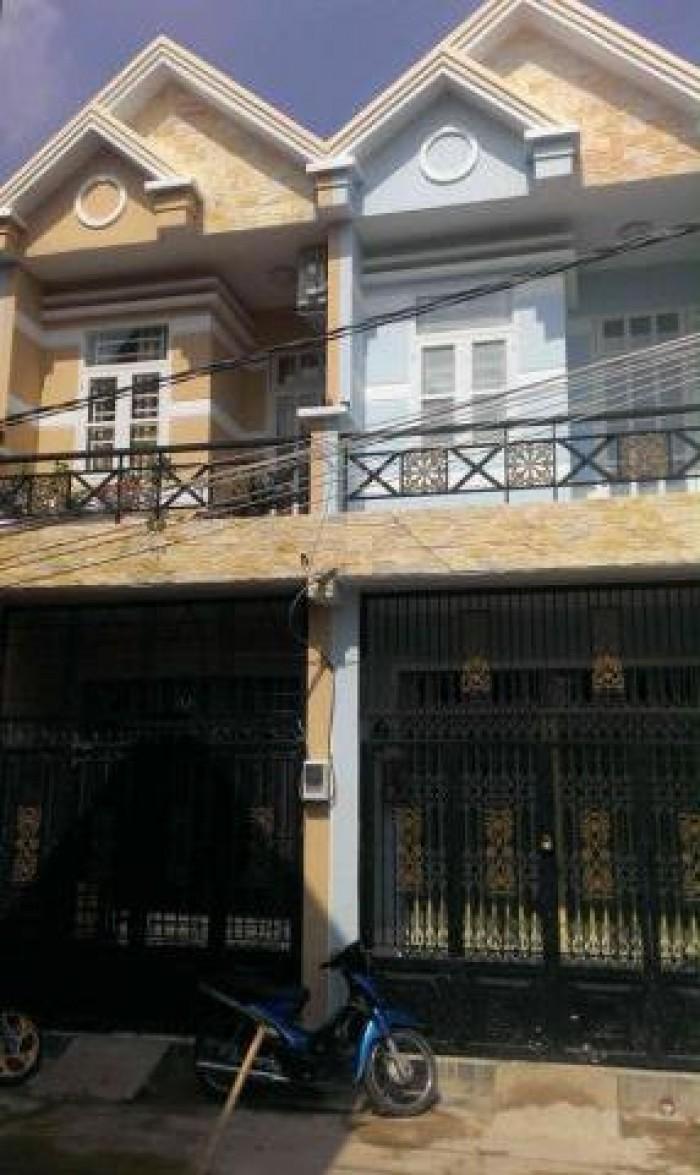 Bán Gấp nhà 1 lầu 1 xẹt đường Vĩnh Lộc, ấp 5, BC