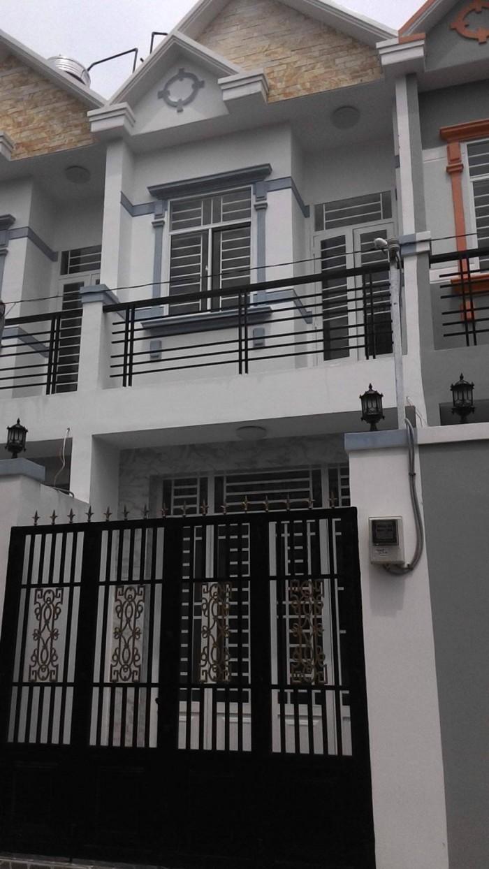 Nhà 4x14m,Hương Lộ 80, gần UBND Vĩnh Lộc B,