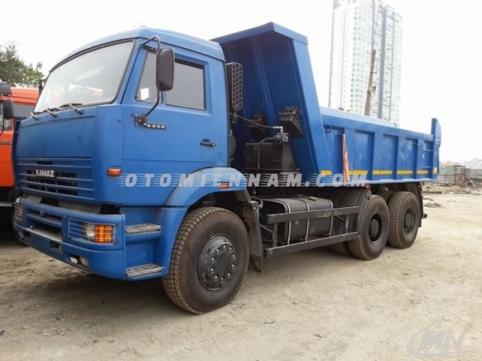 Bán xe Kamaz ben 20 m3 hỗ trợ vay 80%, lãi suất thấp, xe có sẵn