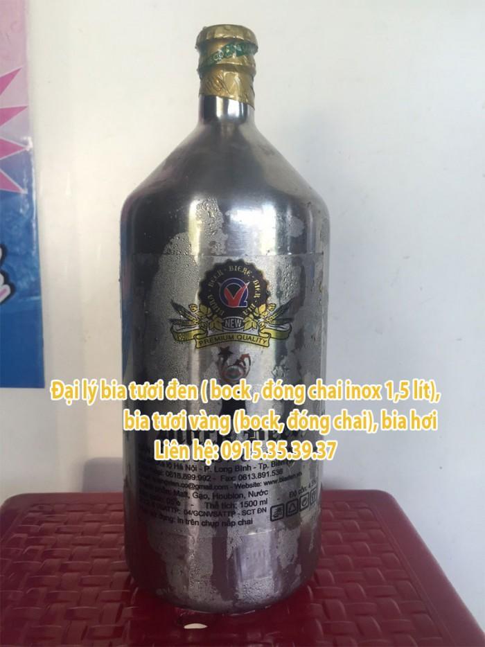 phân phối bia tươi đen đức, bia tươi vàng, bia hơi, bia tươi pét, bia tươi sadobeco, bia tươi đen bock inox, black beer2