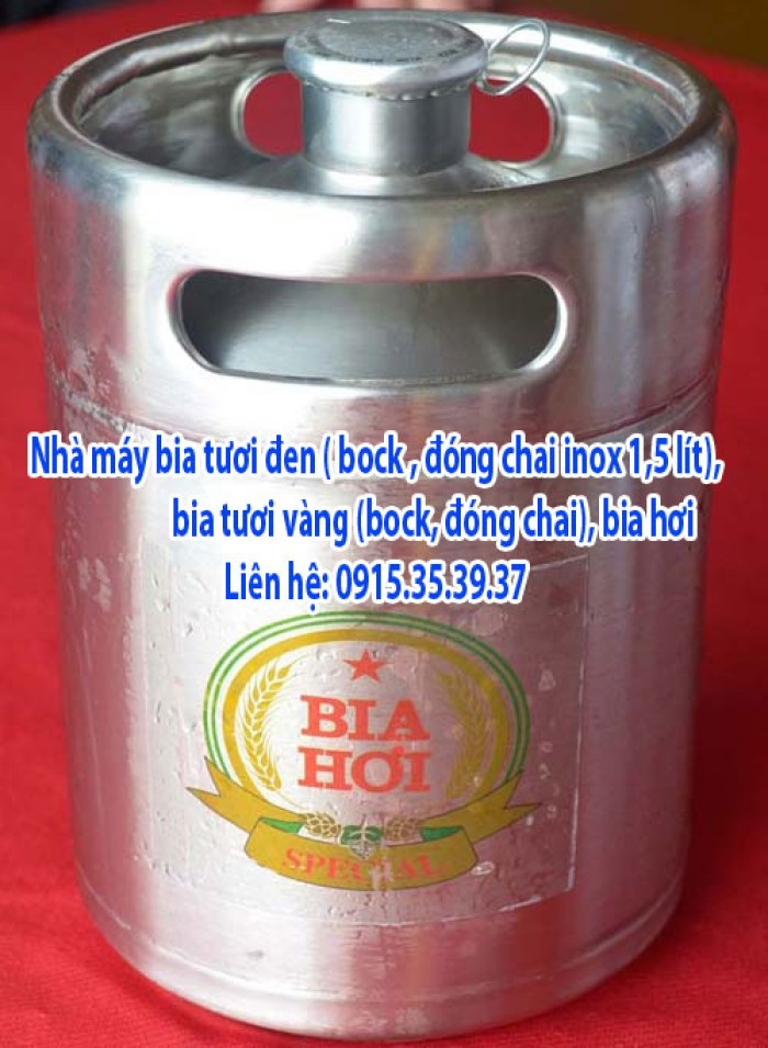 phân phối bia tươi đen đức, bia tươi vàng, bia hơi, bia tươi pét, bia tươi sadobeco, bia tươi đen bock inox, black beer3