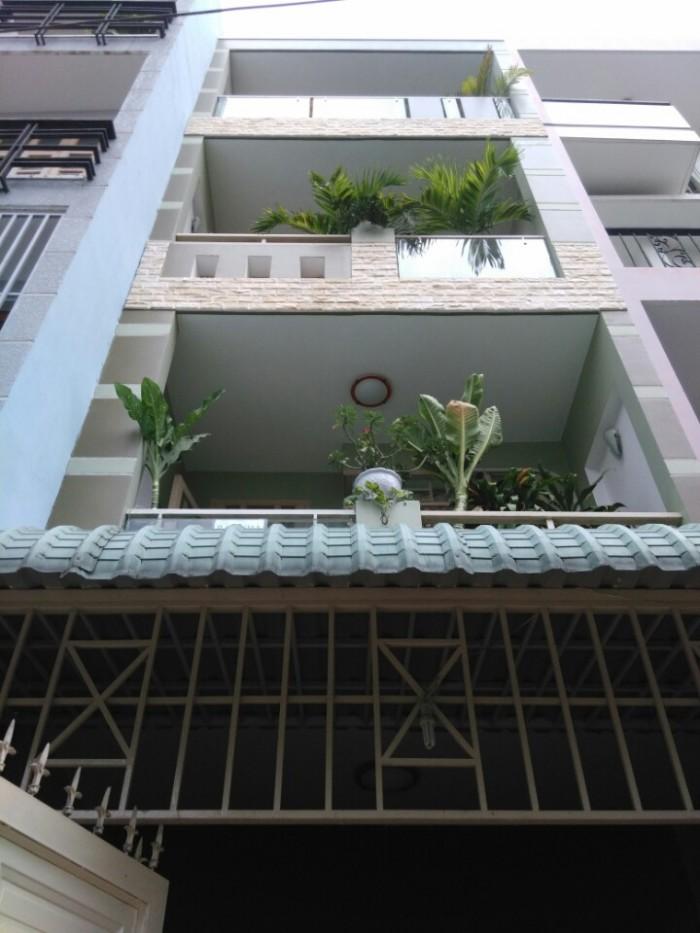 Nhà 331/38/41 Phan Huy Ích, phường 14, Gò Vấp, HXH 6m Thông, 4x15,5m, 1Trệt+3Lầu, 4PN, 5WC, Đông Nam