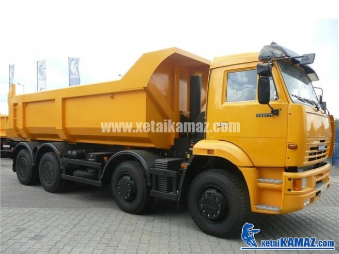 Đại lý xe Kamaz Việt Nam, Bán xe ben Kamaz 6520 20 tấn, nhập khẩu 2016