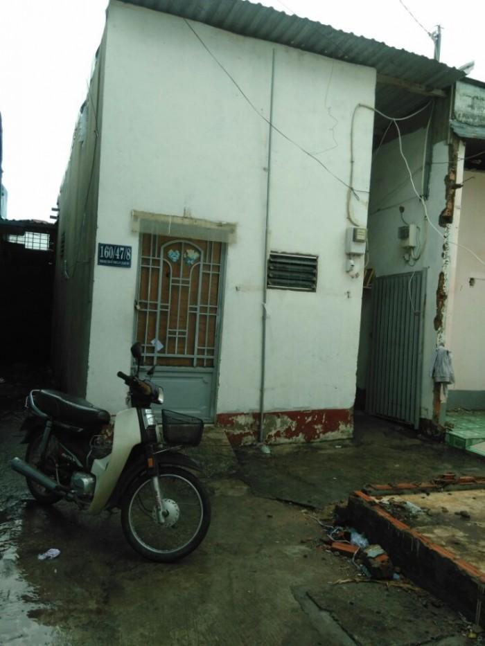 Nhà bán 160/47/8 Phan Huy Ích, phường 12, Gò Vấp ,4x12m, Cấp 4, Tây Bắc