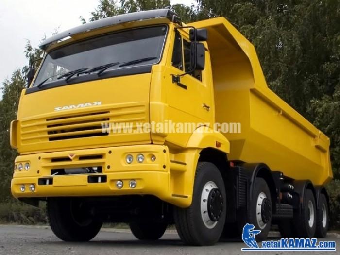 Bán xe ben Kamaz 6520 20m3 8x4,Trọng tải: 25.5 tấn 2016 giá 1 tỷ 862 triệu  Xe ben Kamaz 65201 20 m3 - 8x4, Trọng tải: 25.5 tấn 20 m3
