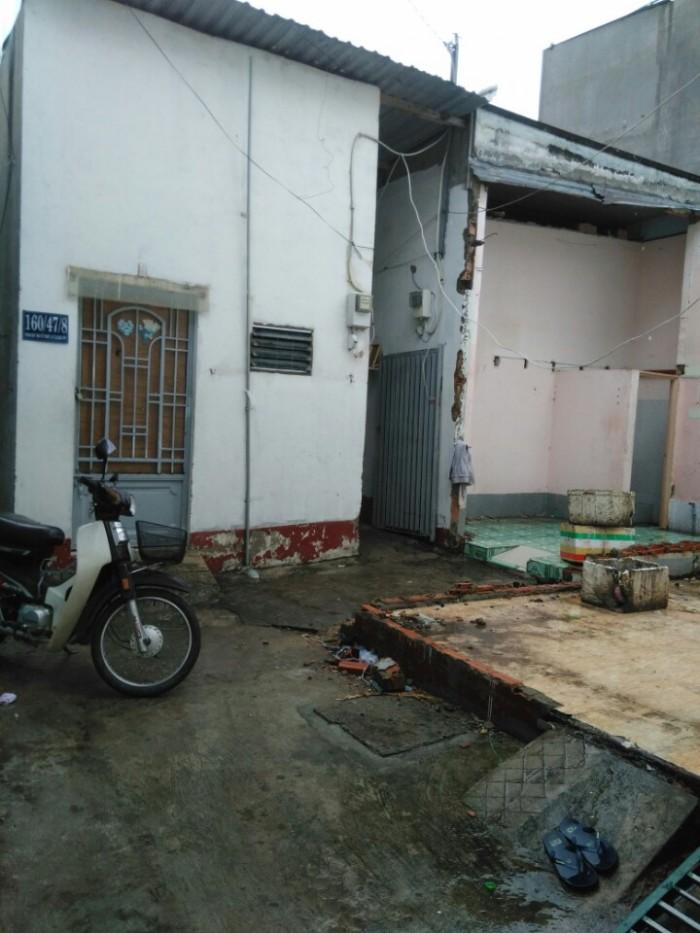 Nhà bán 160/47/8A Phan Huy Ích, phường 12, Gò Vấp ,4,2 x 13m, Cấp 4, Tây Bắc