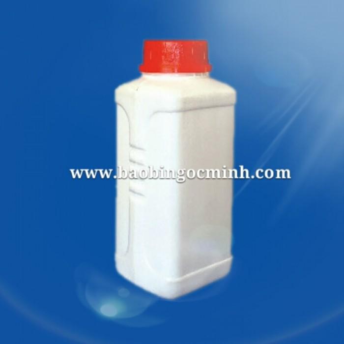 Hủ nhựa 500ml ngành dược phẩm, chai nhựa 500ml đựng thuốc trừ sâu, bình nhựa 500ml giá rẻ, sử dụng đa ngành6