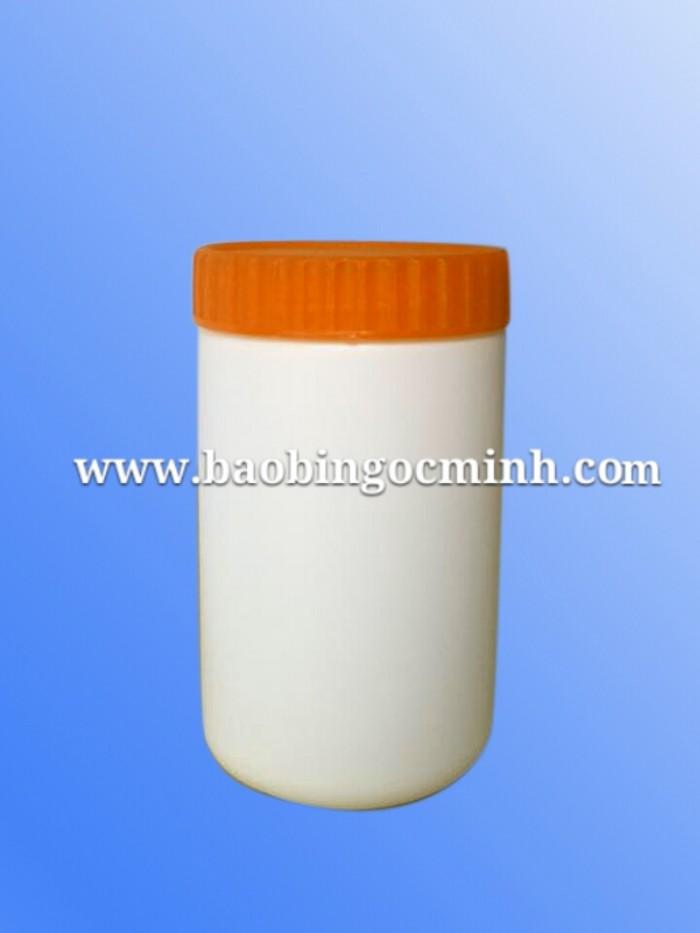 Hủ nhựa 500ml ngành dược phẩm, chai nhựa 500ml đựng thuốc trừ sâu, bình nhựa 500ml giá rẻ, sử dụng đa ngành11
