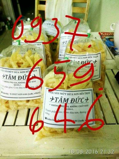 Bán sỉ lẻ Mứt dừa non bến tre ở tphcm, đặc sản mứt dừa non bến tre