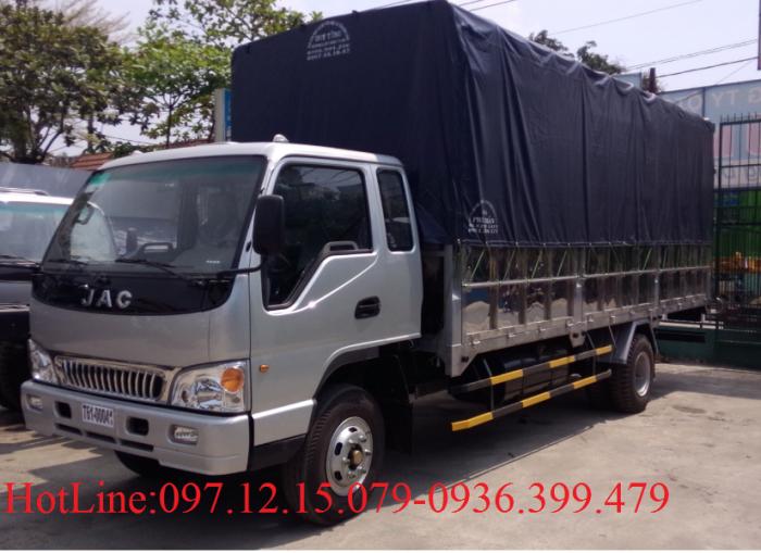Xe tải JAC 8 tấn thùng  5.7 m - Xe 7.3 tấn thùng dài 6 m 2