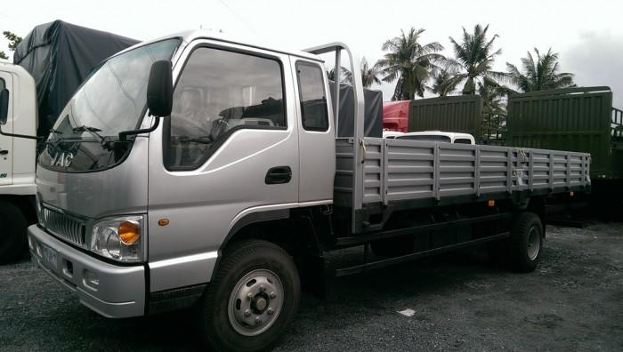 Xe tải Jac 6.4 tấn thùng lửng 1