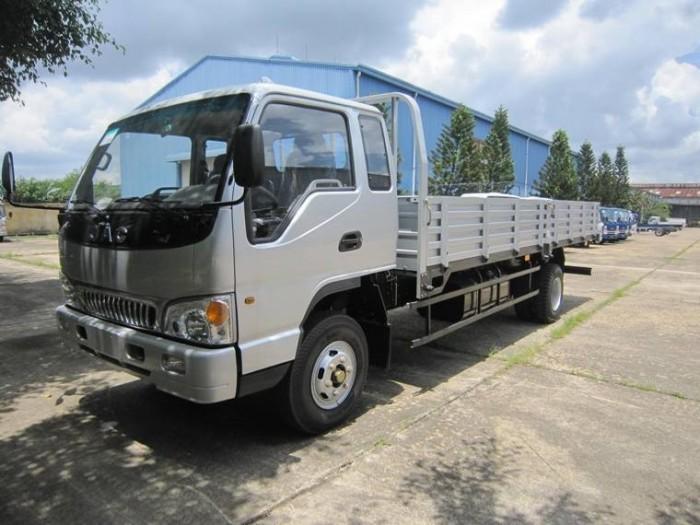 Xe tải Jac 6.4 tấn thùng lửng 2