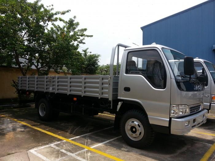 Xe tải Jac 6.4 tấn thùng lửng 3