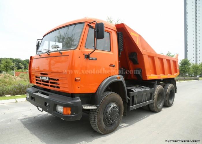Tải trọng: 13.000 kg  Mức tiêu hao nhiên liệu (100 km/lít) 27  Hộp số: Kamaz 10 số tiến, 2 số lùi