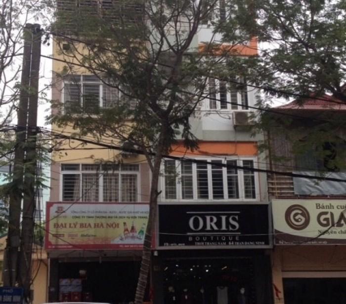 Bán nhà mặt phố Trần Đăng Ninh.Giá 25,5 tỷ.DT 70m2