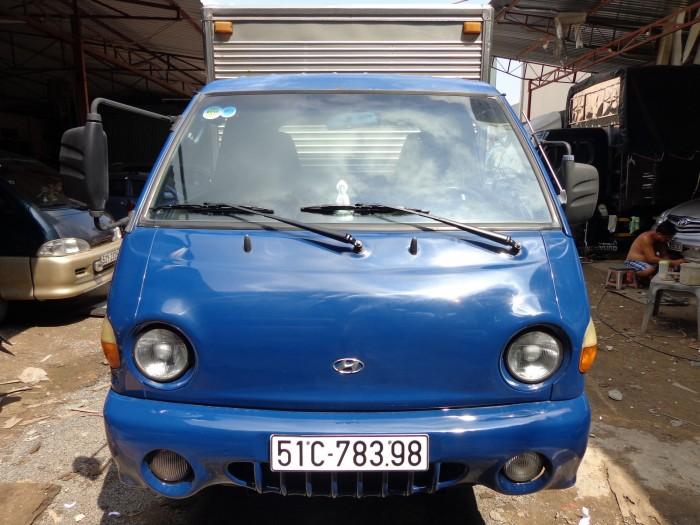 Hyundai poter 2006 1t thùng kín có máy lạnh
