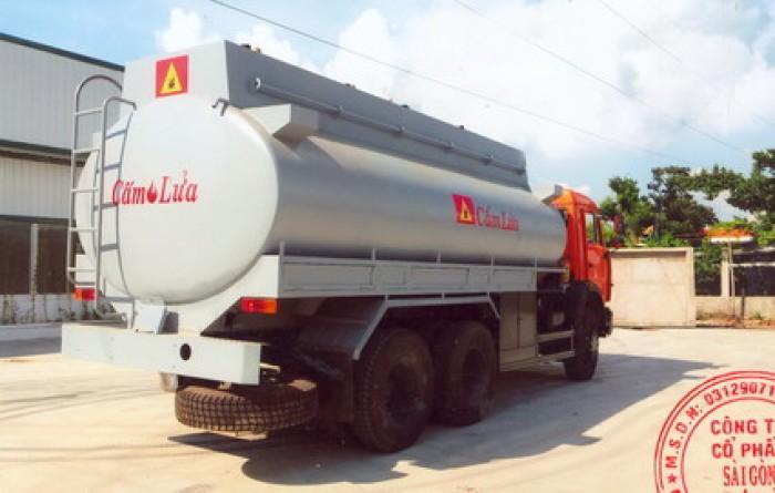 xe kamaz bồn xăng dầu