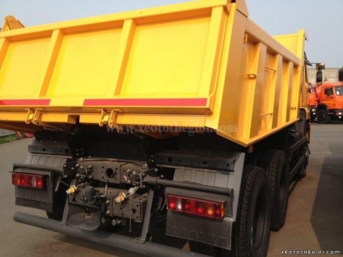 Bán xe Kamaz 15 tấn 8.5m3 thùng ben 65111 (6x6) giá tốt cạnh tranh