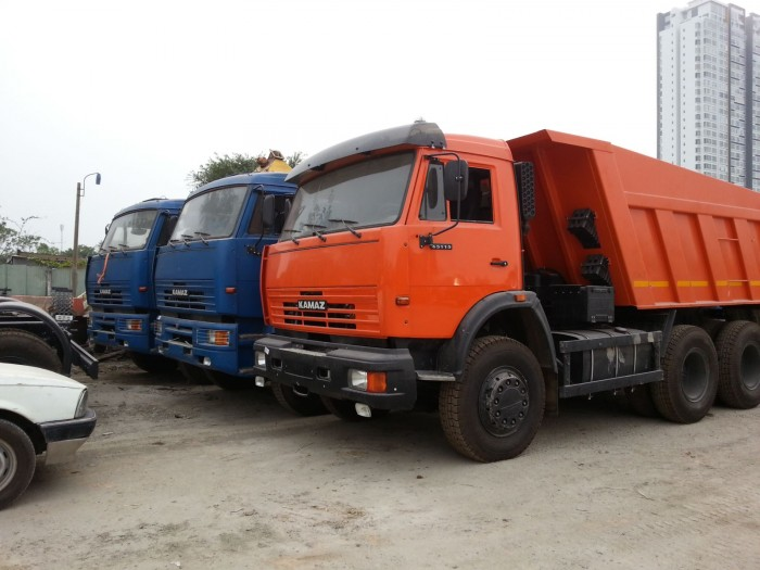 Bán xe Kamaz 15 tấn 8.5m3 thùng ben 65111 (6x6) giá tốt cạnh tranh, 2