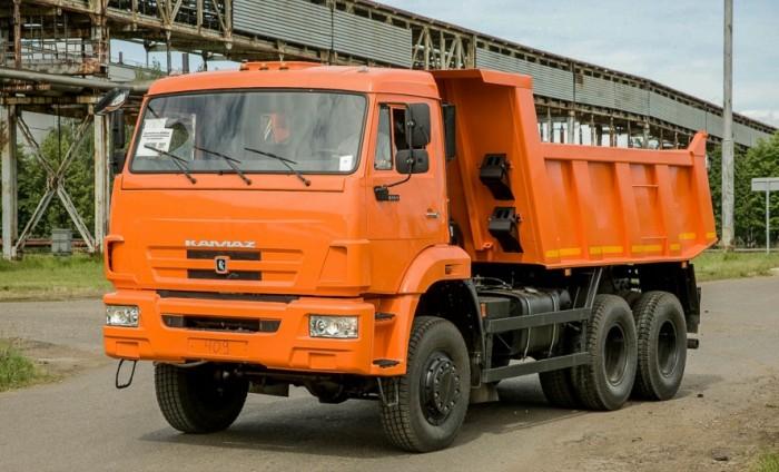 Bán xe Kamaz 15 tấn 8.5m3 thùng ben 65111 (6x6) giá tốt cạnh tranh, 3