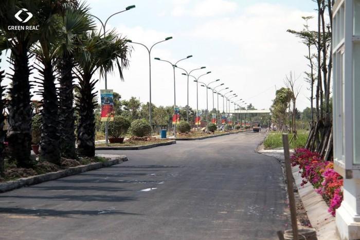 Sở hữu đất nền dt 120m2 hạ tầng hoàn thiện 100% - sổ đỏ riêng - ngã tư phước lý cách chợ bình chánh 5 phút đi xe