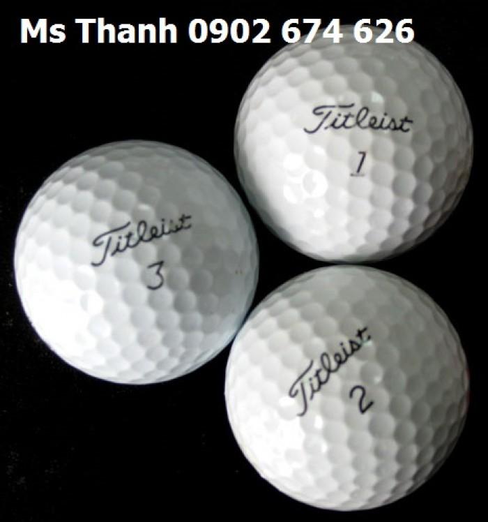Bóng golf cho sân tập, bóng golf titleist pro v1