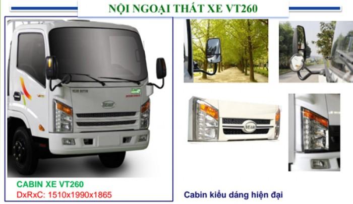 Bán xe VEAM VT260 máy Hyundai nhập khẩu