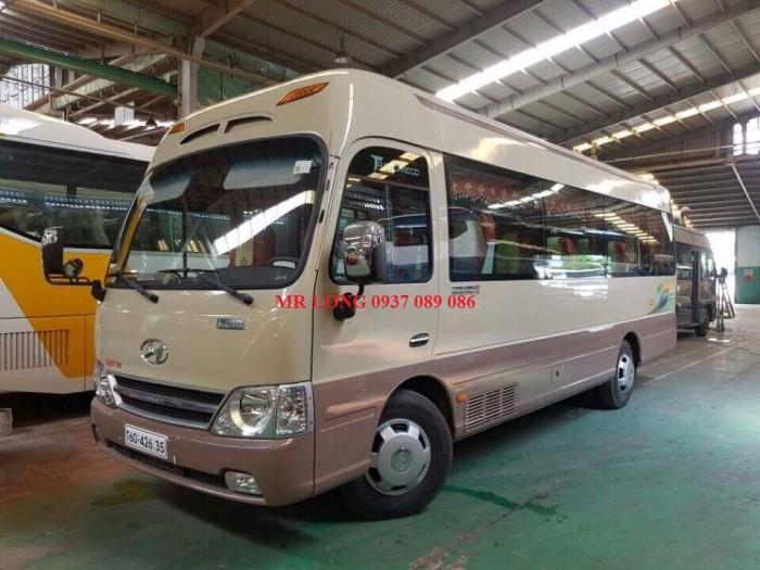 Xe 29 ghế limousine nhập khẩu 2017