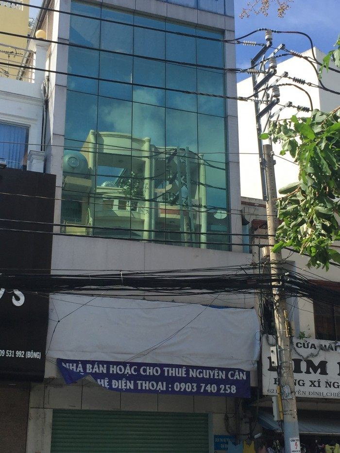 Bán nhà MT Yersin. Nguyễn Thái Bình, DT 4.1x20.5m, giá chỉ: 19.5 tỷ