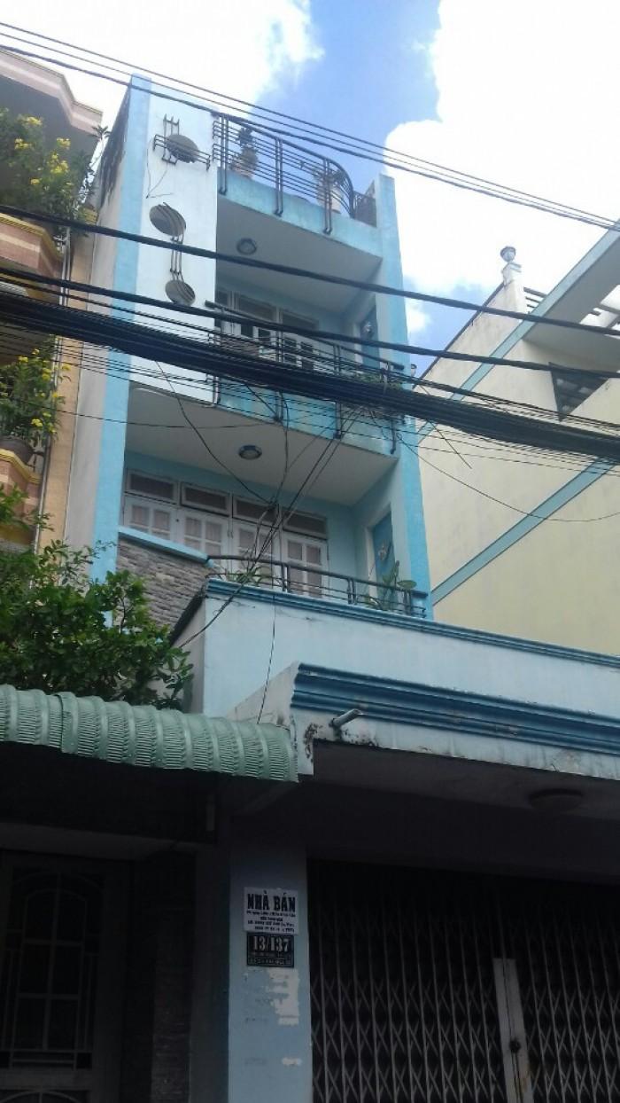 Bán nhà HXH(7m), Trần Văn Hoàng, P9, Tân Bình, DT 3,65x29m. Giá 5,8 tỷ/TL.