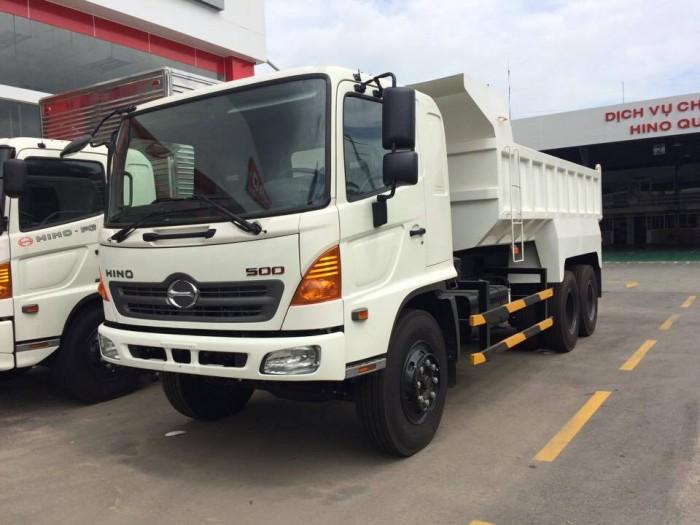 Bán xe tải ben Hino FM8JNSA 2 cầu 14 tấn, giá cực tốt, 2