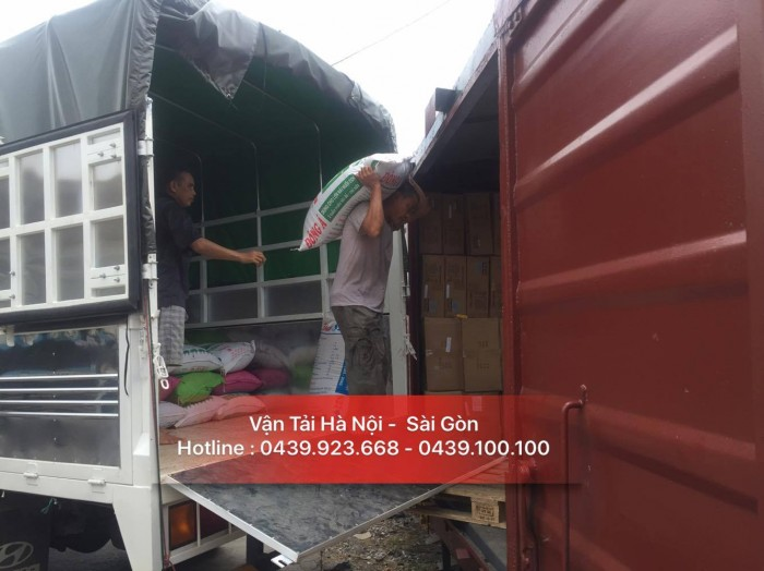 Công ty tnhh dịch vụ vận tải hàng hóa Hà Nội - Sài Gòn nhận chuyển hàng Bắc - Nam giá rẻ