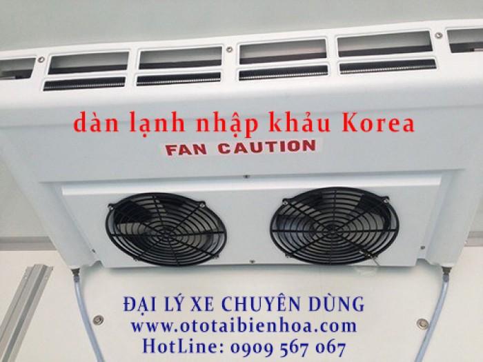 Hyundai HD210 sản xuất năm 2016 Số tay (số sàn) Xe tải động cơ Dầu diesel