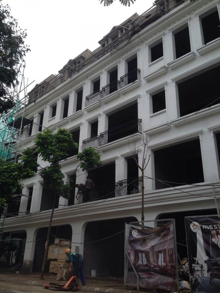 Nhà phố Five Star Mỹ Đình, 106m2x6 tầng (đã xây xong), 30/9 bàn giao thuận tiện kinh doanh