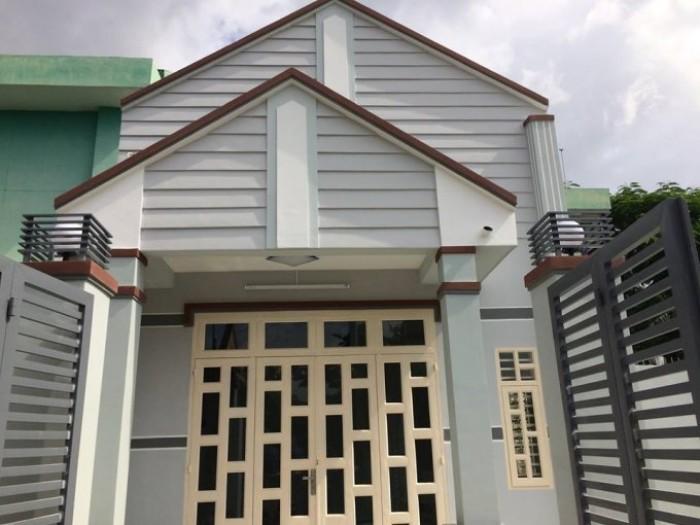 Nhà mới xây 1 trệt, 1 lầu thiết kế hiện đại tại phường Hiệp An, TP Thủ Dầu Một