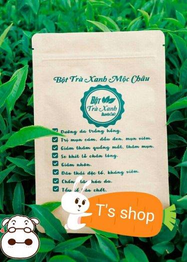 Bột trà xanh Mộc Châu nguyên chất 100%0