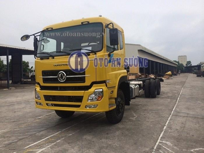 Bán xe tải Dongfeng Việt Trung NK 3 Chân 14t2