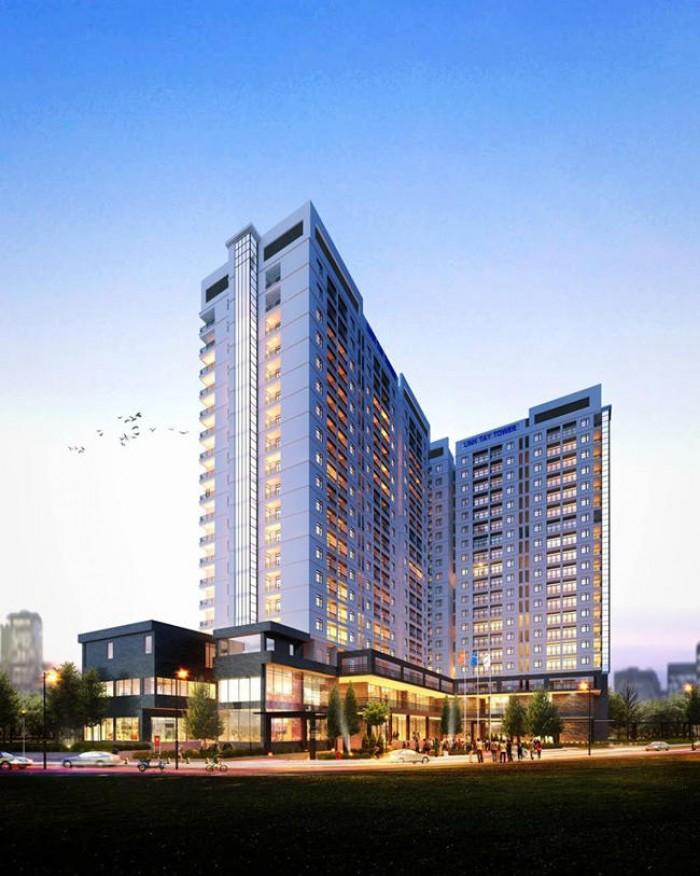 Căn Hộ Cao Cấp Linh Tây Tower 65m-TT.45% nhận nhà-Phạm Văn Đồng Vincom