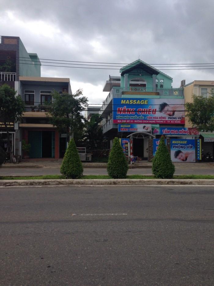 Bán đất mặt tiền đường Cách Mạng Tháng 8, đối diện trung tâm hội chợ triễn lãm Đà Nẵng