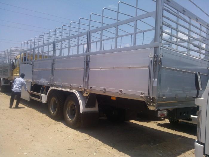xe tải fuso 3 chân 15t