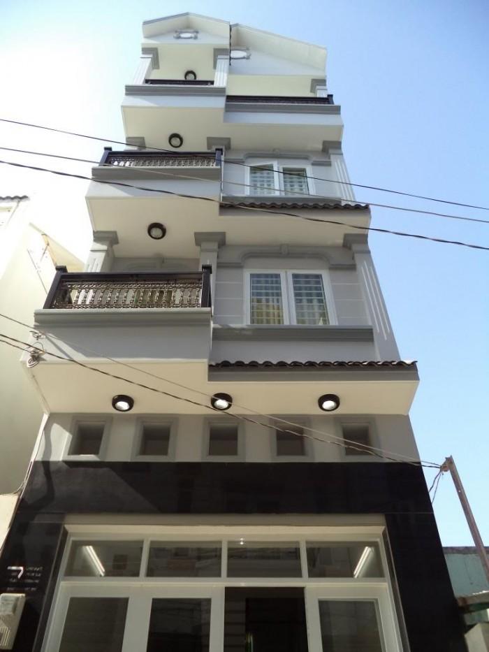 Bán nhà đường Dương Cát Lợi, 4 tầng, 4 phòng ngủ, sân thượng, DT 215m2, Giá 2.75 Tỷ