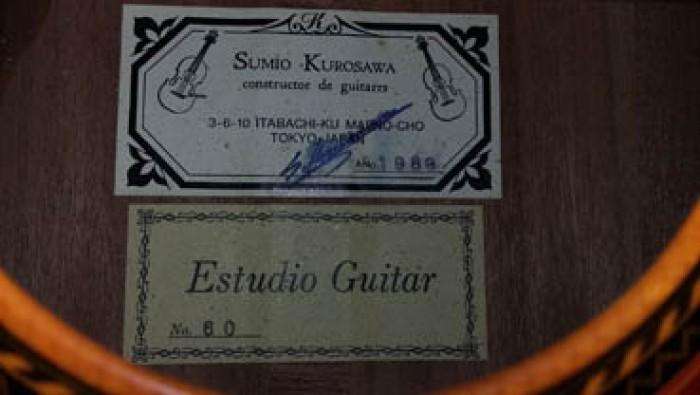 Guitar Sumio kurosawa No 60 Nhật