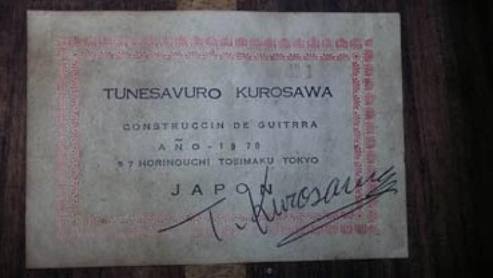 Guitar Tunevosuro Kurosawa No 1 Nhật