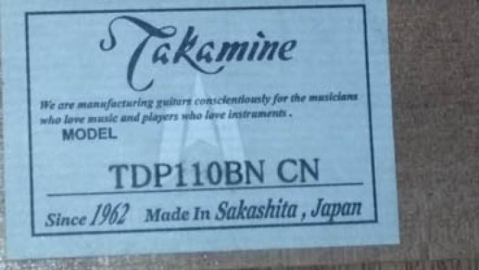 Guitar Takamine TDP 110 BN CN Nhật