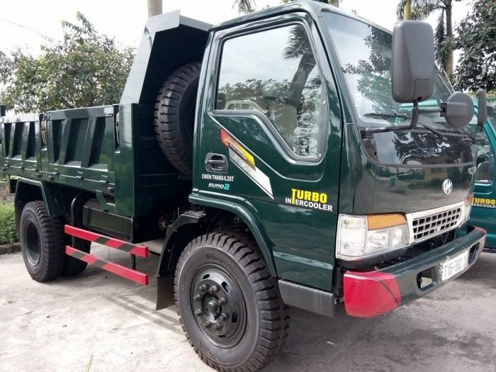 Xe tải ben Hoa Mai 6,45 tấn 2 cầu