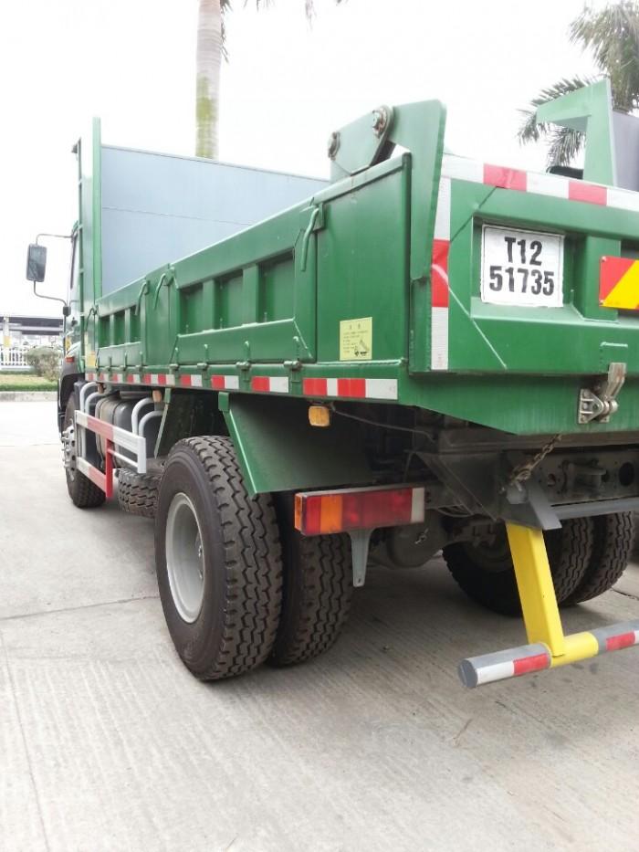 Xe tải ben tự đổ 8 tấn howo