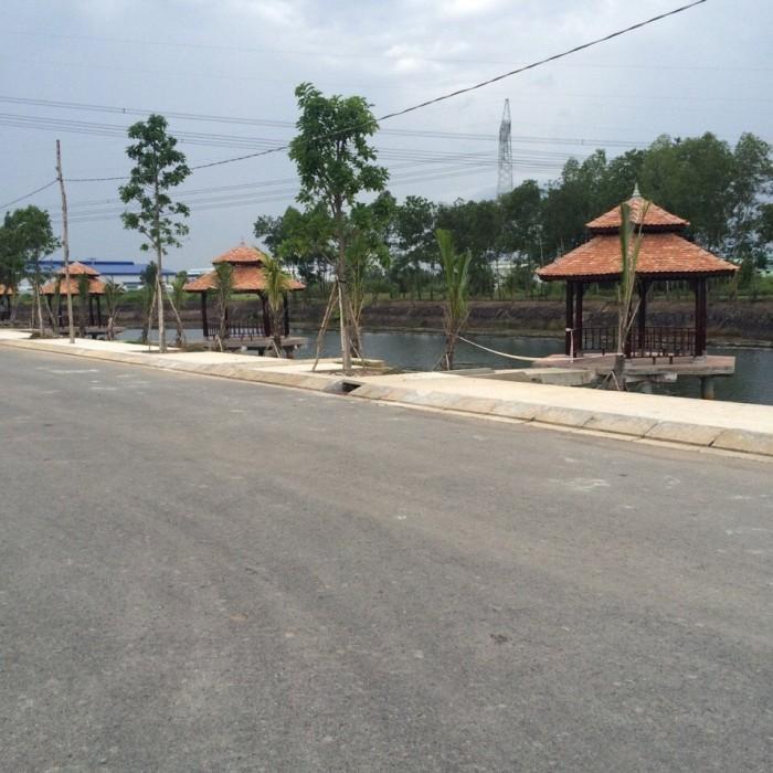 Đất 100m2 mặt tiền đường An Hạ, Bình Chánh, TPHCM